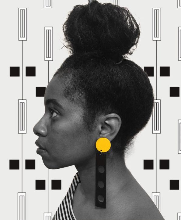 earrings from side